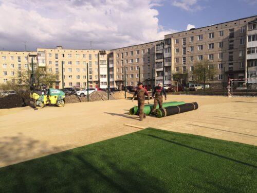 Детская площадка город Реж