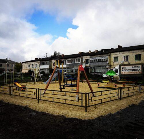 Детская площадка посёлок Липовка