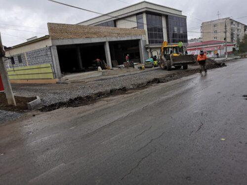 Строительство торгового центра город Реж