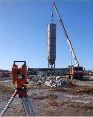 Строительство бетонного завода город Реж