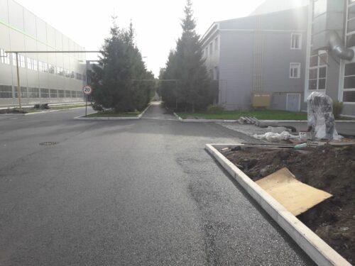 Благоустройство территории машиностроительного завода «Вентпром» в г. Артемовский